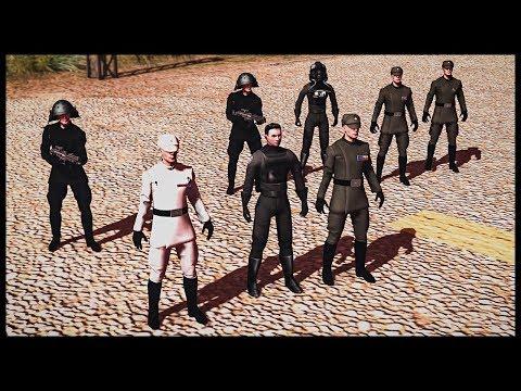 Star Wars Imperial Officer ASSASSINATION!