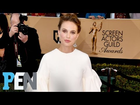 Natalie Portman On The Pros Of Dressing For Red Carpets While Pregnant | PEN | Entertainment Weekly