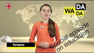 WADADA News for Kids Ukraine - Special episode on education (with English subtitles)