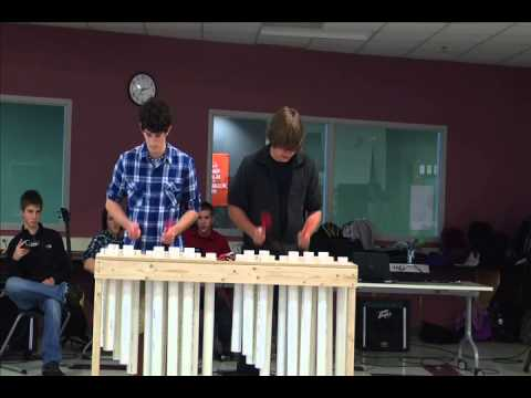 pvc pipe xylophone youtube. Black Bedroom Furniture Sets. Home Design Ideas