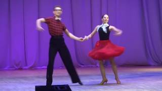 7.Танец Экзамен- Дарья Баковецкая, Желтиков Олег (Студия бального танца DA WINchi)