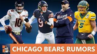 Chicago Bears Rumors: Draft Trey Lance? Matt Nagy Speaks About Foles & Trubisky + Artie Burns Trade?