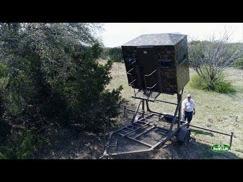 Swift Lift | Mobile Hunting Blind Stand Solution