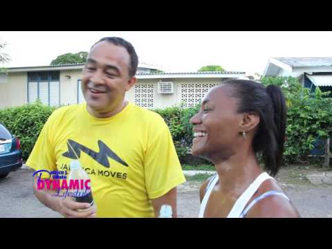 DynamicPat380 Run with Minister Christopher  Tufton