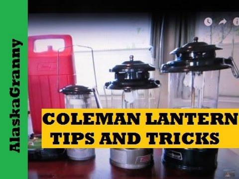 Coleman Lanterns Tips and Tricks