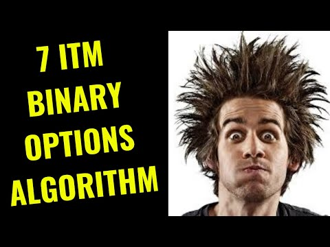 🥇 (7 Itm) BINARY OPTIONS ALGORITHM (FREE) - Try Right Now!