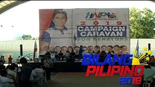 Hugpong ng Pagbabago, dumipensa sa pag-endorso ng 13 kandidato sa pagka-senador