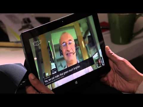 Skype Translator demo Microsoft