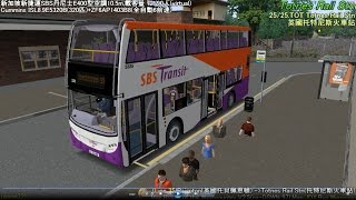 Omsi 2 tour (507) UK  Westcountry 35 Paignton - Totnes Railway Station @ SBST Alexander Dennis E400