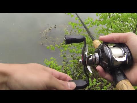 Bass fishing the asherton blvd ponds oh doovi for Bass fishing in the rain