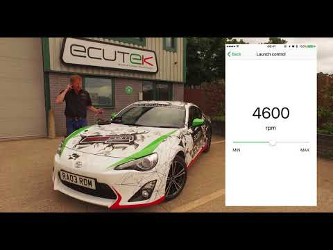 EcuTek ECU Connect and Bluetooth Vehicle Interface for BRZ/GT86/FRS - Standard Features