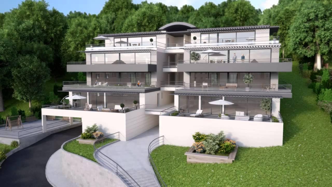 Film full 3d les terrasses du roy pour le promoteur for Appartement yverdon les bains