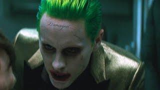 The Joker interrogates the prison guard | Suicide Squad