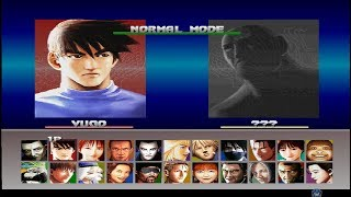 Kensei: Sacred Fist All Characters [PSX]