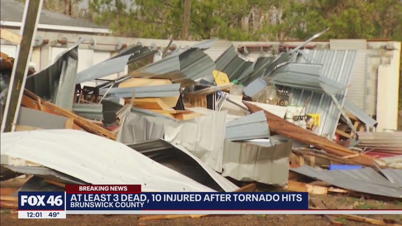 3 Dead, 10 Injured After Tornado Touches Down In Coastal North ...