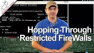 Hopping Through Restricted FireWalls - Metasploit Minute