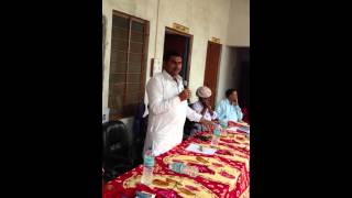 Ramlal Jat- MLA Bhilwara - addressing people of Chitamba