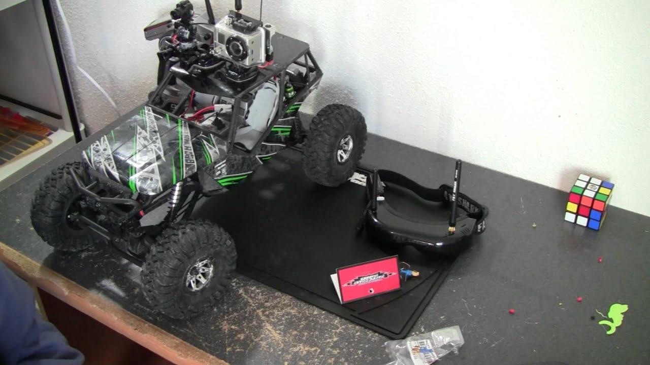 The Wraith Car >> Axial Wraith Mount Go Pro And FatShark FPV Camera System ...