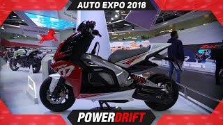TVS Creon @ Auto Expo 2018 : PowerDrift