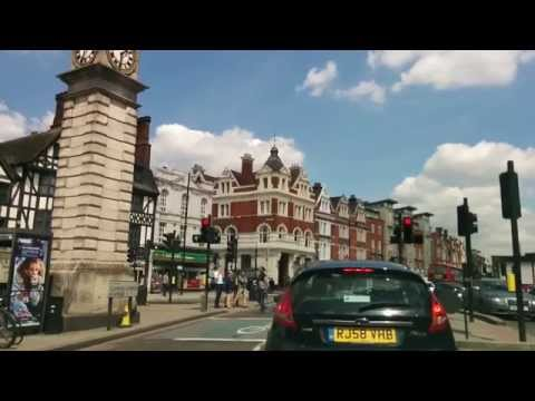 Driving in London - Clapham South to Clapham Common