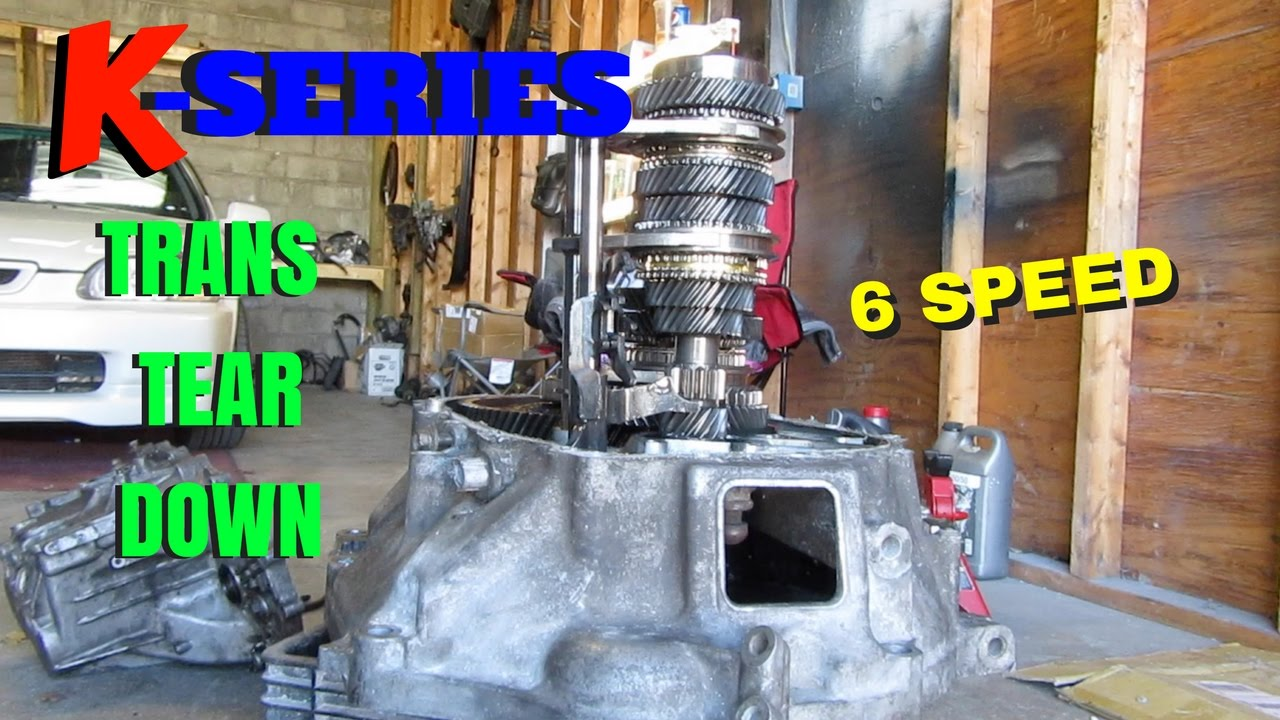 K SERIES TRANS TEAR DOWN! HOW TO! HSG EP  5-18