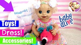 👗 Walmart Shopping Haul for Baby Alive! 🛍 Baby Alive Videos 💜