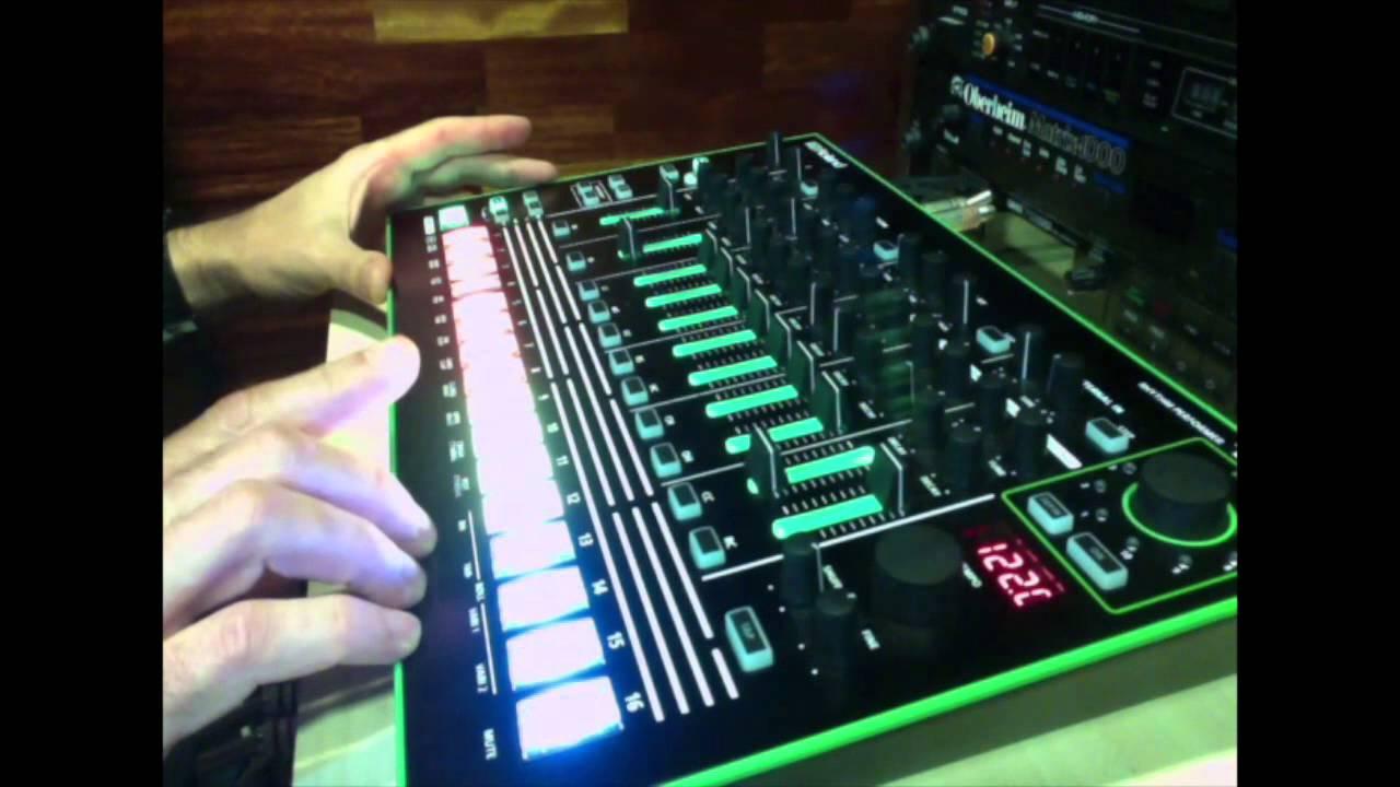 Nacho Marco testing the new Roland AIRA 7X7 TR8 (HQ Audio) - YouTube