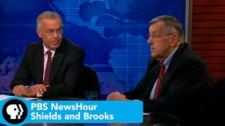 PBS NewsHour | Shields and Brooks on same-sex marriage sea change, politics of Ebola prevention