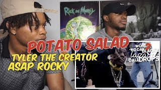 Tyler, The Creator ft. A$AP Rocky - POTATO SALAD - REACTION