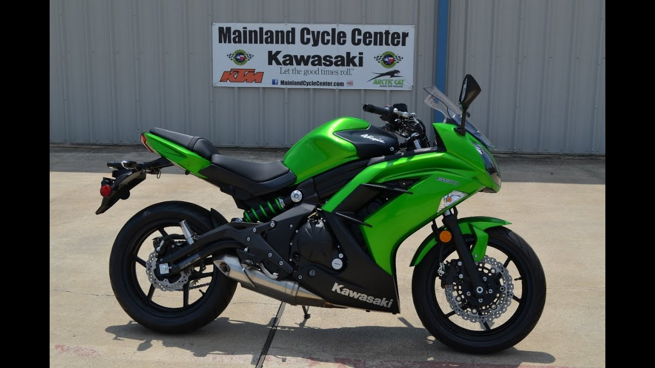 SALE $5,899: 2015 Kawasaki Ninja 650 Candy Lime Green Overview and