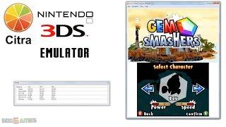 Citra 3DS Emulator - Gem Smashers Ingame!