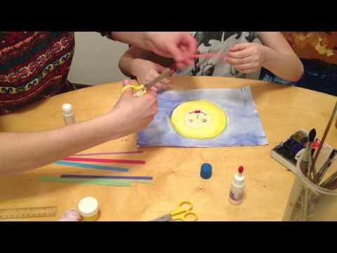 Рисунок  на тему Масленицы с детьми от 3 лет