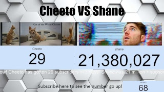 Support the stream: https://streamlabs.com/victoriuz 's most interesting channel's at moment are sub war! will cheeto overtake famous shane...