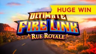 BETTER THAN JACKPOT! Ultimate Fire Link Rue Royale Slot - $10 BETS!