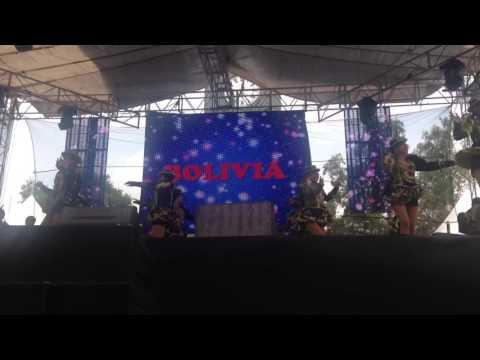 Bolivia - Folkloriada 2016 México