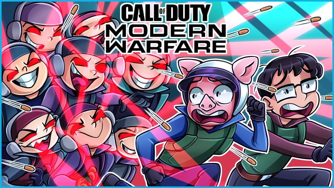 Modern Warfare but this game is completely overrun by hackers…