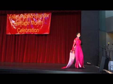Vietnamese Traditional Long Dress (Áo dài) Fashion Show at Asia Pacific Islander Month Celebration