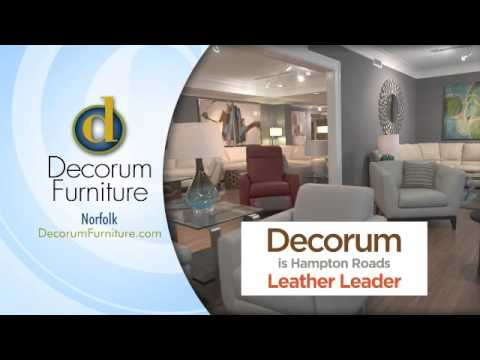 Decorum Furniture Leather Sale   February 2015