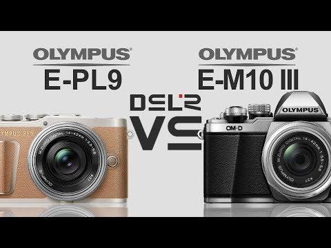 Olympus PEN E-PL9 vs Olympus OM-D E-M10 Mark III - YouTube