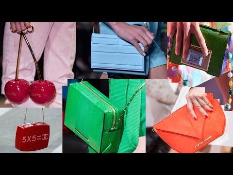 Мода сумки Весна Лето 2015 Париж Модная Подборка