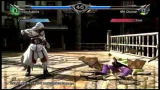 "Soul Calibur V Got_Trees09 ""Wht Chocolat"" [Dampierre] vs Kingperg [Ezio]"