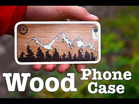MAKING A AWESOME WOODEN PHONE CASE! \\ iPhone 6