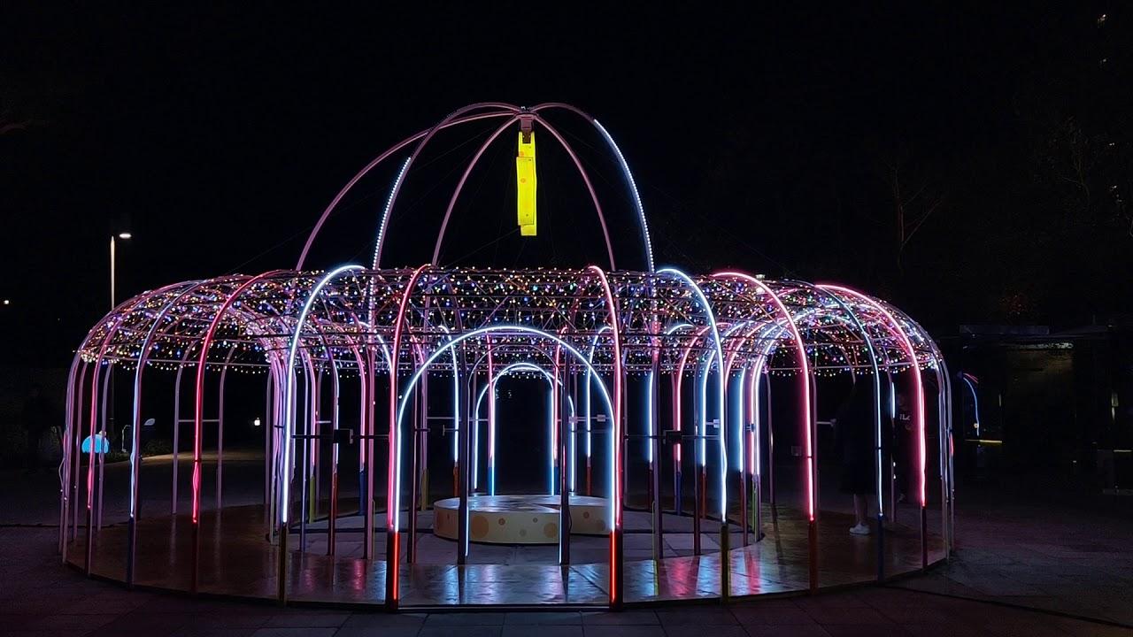 新竹公園限定裝飾燈