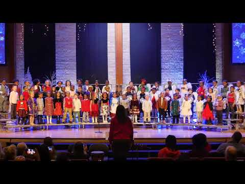 K4 and K5 Eastbrook Academy Christmas Program 2019