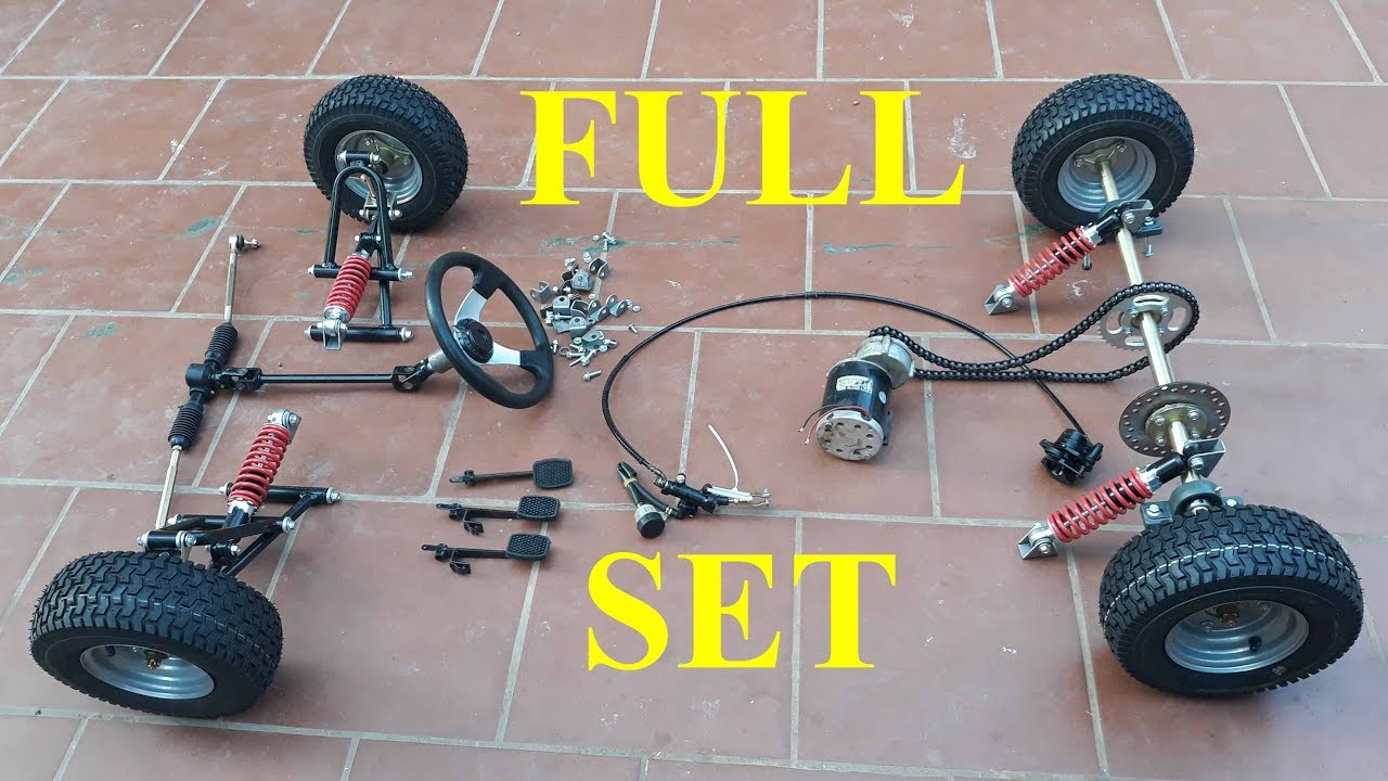 Full set of car parts (go kart) - Youtube Video Download Mp3