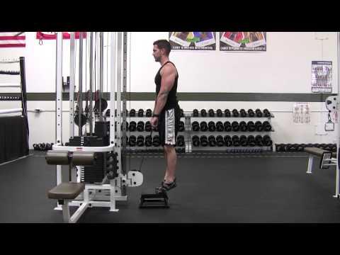 FitRanX - Cable Calf Raise - Male - FitRanX Fitness Ranking System.MTS