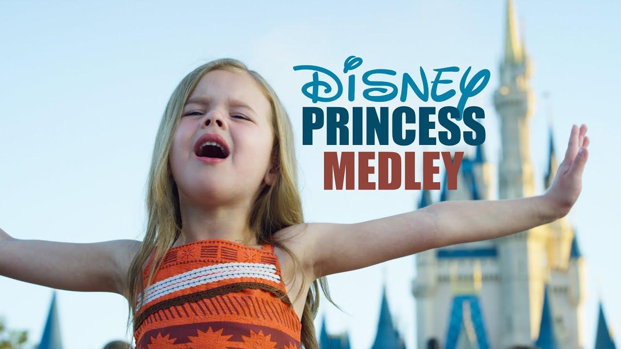 Download DISNEY PRINCESS MEDLEY - SINGING EVERY PRINCESS SONG AT WALT DISNEY WORLD