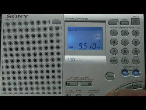 Three World Band Portable Radios 3-3