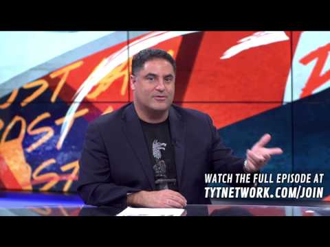 Cenk Uygur Telling A Story About His Father