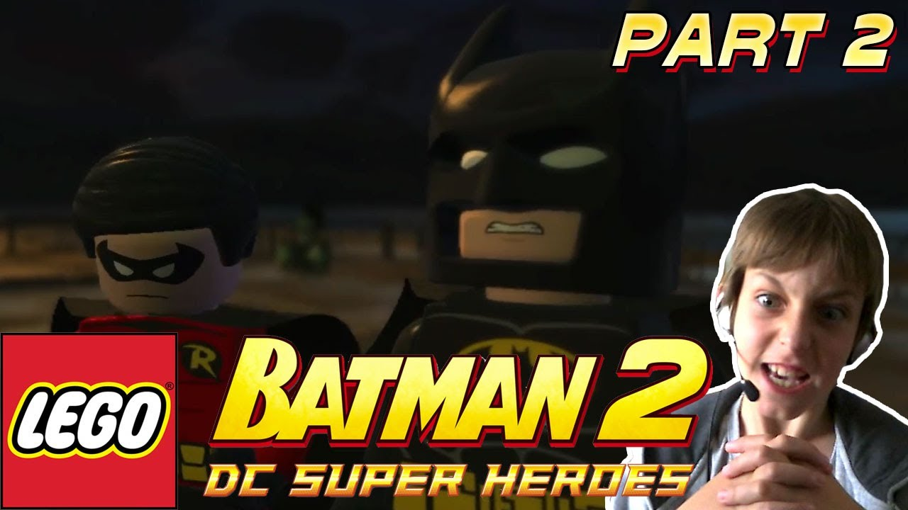 STOP THE JOKER | Lego Batman 2 level 2 | BATMAN 2 DC ...
